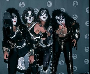 KISS ~Los Angeles, California...February 28, 1996 (38th Annual Grammy Awards)
