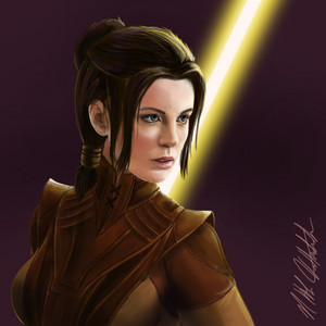 Kate Beckinsale as Bastila Shan