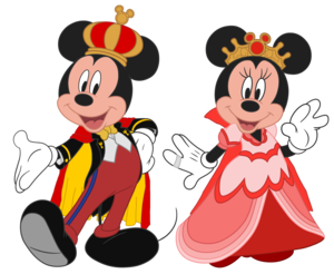 King Mickey and Queen Minnie - King and Queen of Disney