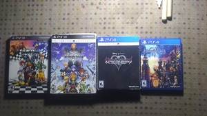 Kingdom Hearts Complete Video Game Collection