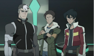 Klance with Shiro