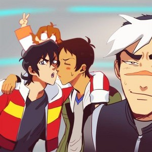 Klance with Shiro and Pidge