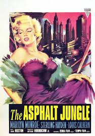 Movie Poster 1950 Film, The Asphalt Jungle