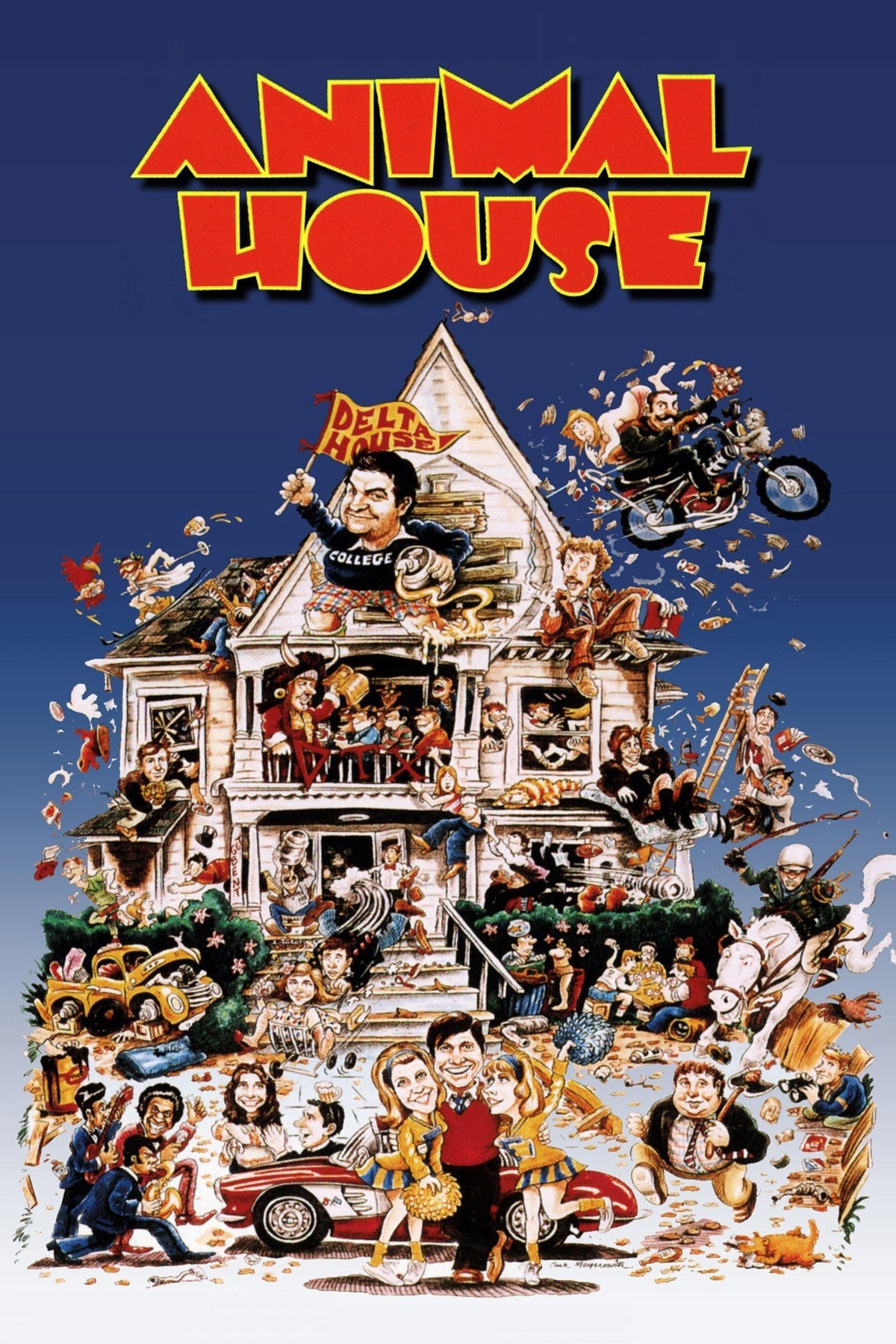 National Lampoon's Animal House (1978) Poster - Stoner ...