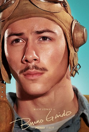 Nick Jonas as Bruno Gaido in Midway - Character Poster