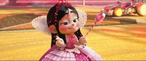 Princess Vanellope Von Schweetz with Hair down