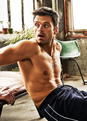 Sebastian Stan for Men's Health January 2020
