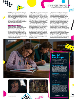 Stranger Things in SciFiNow Magazine - 2017 [6]