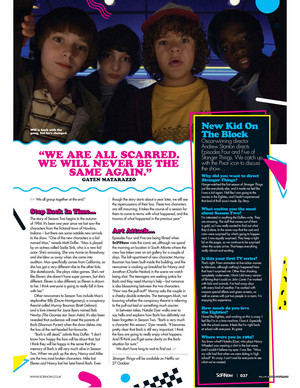 Stranger Things in SciFiNow Magazine - 2017 [8]
