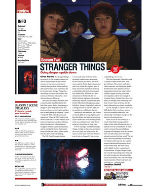 Stranger Things in SciFiNow Magazine - 2017 [9]