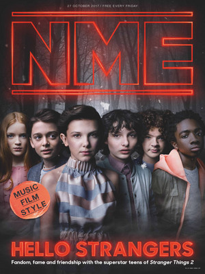 Stranger Things on the cover of NME Magazine - 2017