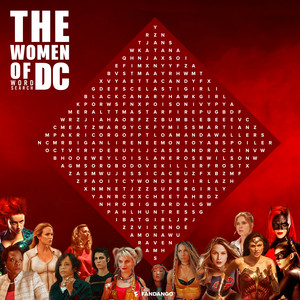 The Women of DC: Word 搜索 由 Fandango