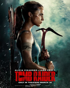 Tomb Raider (2018) Poster - Lara Croft