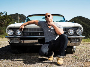 Vin Diesel - Men's Fitness Photoshoot - 2013