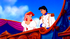 Walt Disney Screencaps – Princess Ariel & Prince Eric