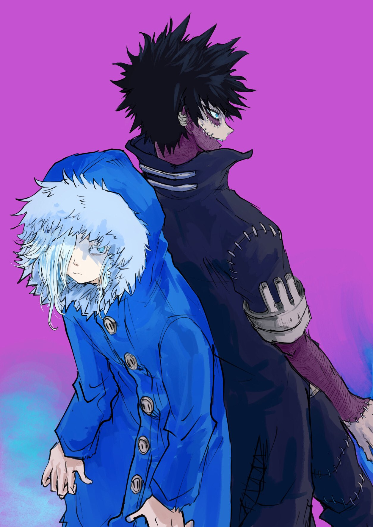 Dabi And Geten Boku No Hero Academia Wallpaper 43296164