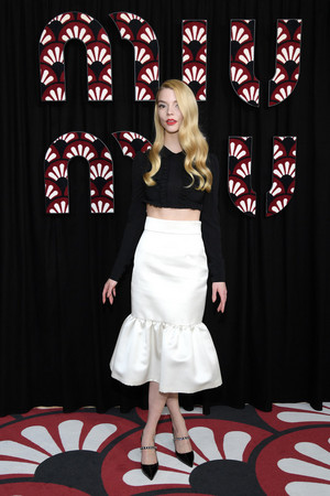Anya Taylor-Joy @ The Miu Miu : Photocall - Fall/Winter 2020/2021