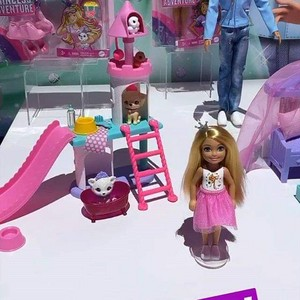 Barbie Princess Adventure - Chelsea Puppy Palace Playset