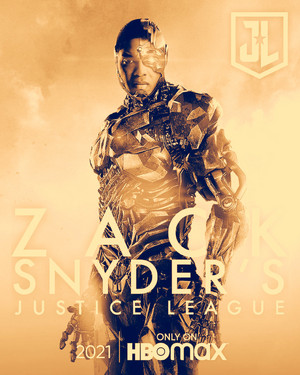 Cyborg -Zack Snyder's Justice League Poster -HBO Max 2021