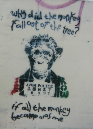 Early Banksy Image?