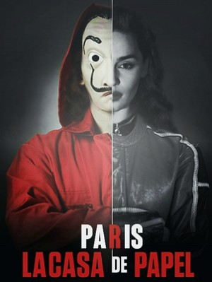 Inès as Paris in La Casa de Papel :p