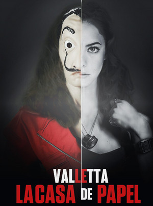 Kir as Valletta in La Casa de Papel :p