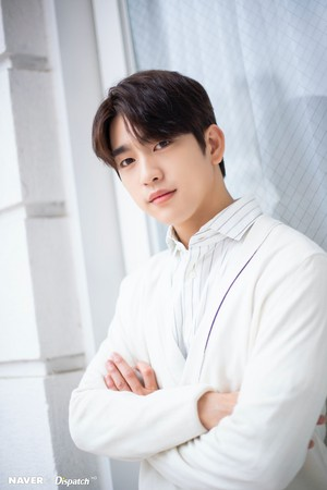 "Jinyoung - tVN Drama ""When My Life Blooms"" Promotion Photoshoot by Naver x Dispatch"