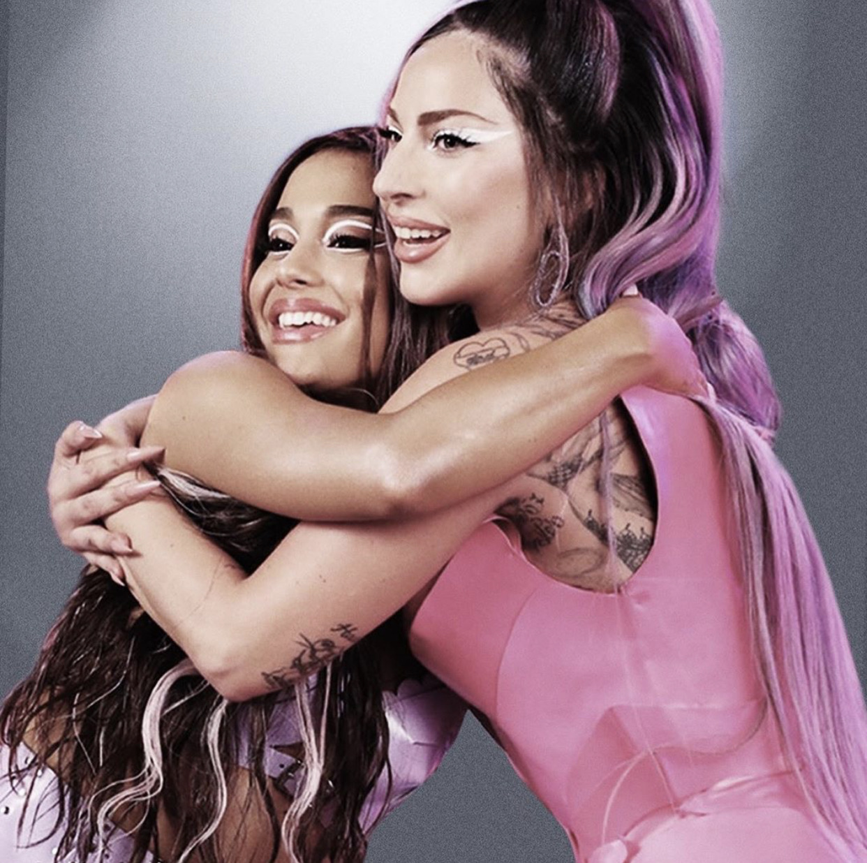 "Lady Gaga/Ariana Grande""Rain on me""💖"