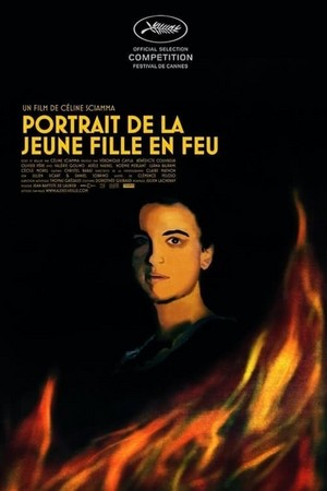 Portrait of a Lady on fuego / Portrait de la jeune fille en feu (2019) Poster