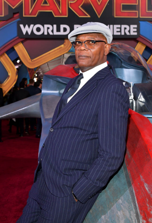 Samuel L. Jackson - Captain Marvel World Premiere March 4, 2019