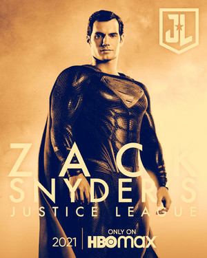 超人 -Zack Snyder's Justice League Poster -HBO Max 2021