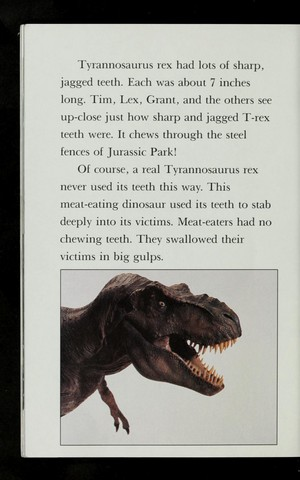 The dinosaures of Jurassic Park (All Aboard lire Book)
