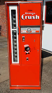 Vintage Orange Crush Vending Machine
