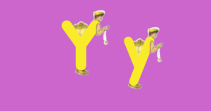 Yellow Yo-Yo Man LetterLand