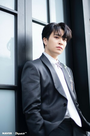 "Youngjae ""DYE"" mini album promotion photoshoot by Naver x Dispatch"