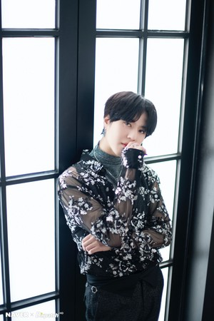 "Yugyeom ""DYE"" mini album promotion photoshoot by Naver x Dispatch"