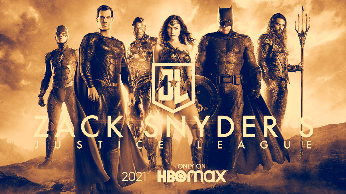 Zack Snyder's Justice League Poster -HBO Max 2021