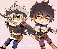 Chibi Asta And Yuno Black Clover Icon 43394941 Fanpop Page 19 The revival of julius novachrono! fanpop
