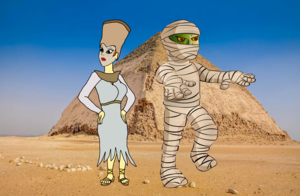 daphne blake as an egyptian mummy Queen by ktd1993 dcmv1yb