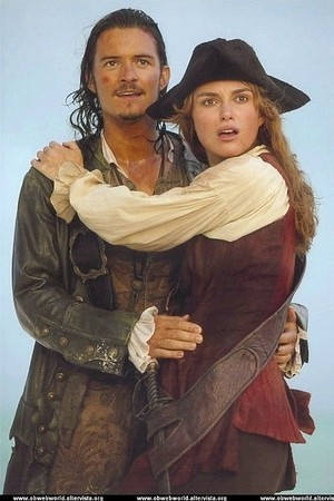 *Elizabeth / Will : Pirates of the Caribbean*