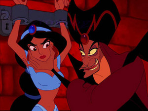 Walt Disney Screencaps - Princess melati, jasmine & Jafar