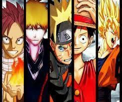 Goku Naruto Luffy Ichigo Natsu