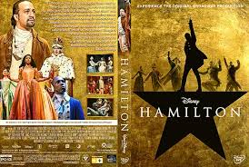2020 Disney Film, Hamilton, DVD Cover