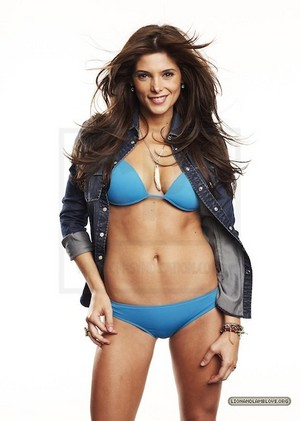 Ashley Greene hot in jacket bra and panties