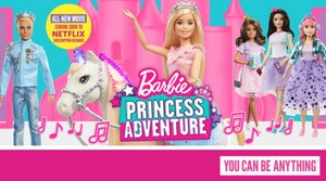 Barbie: Princess Adventure - Promo Banner