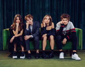 Charlie Heaton, Natalia Dyer, Maya Hawke and Joe Keery - Netflix Queue Photoshoot - 2020