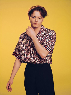 Charlie Heaton - Netflix Queue Photoshoot - 2020