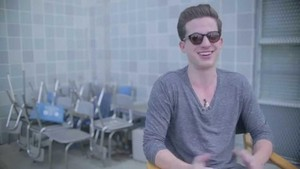 Charlie Puth with His Shades On