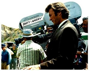 Clint as Dirty Harry Callahan || Behind the scenes