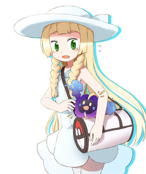 Cosmog and Lillie
